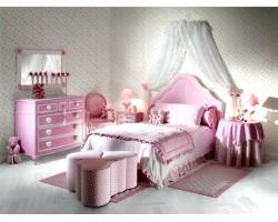Дизайн спальні для дівчинки