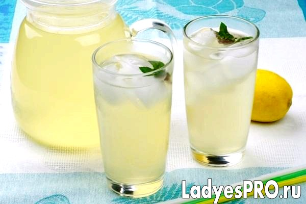 Домашній лимонад