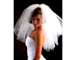 Фата для нареченої, головні убори для нареченої