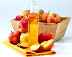 Яблучний оцет від прищів