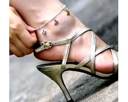 Як підібрати браслет на ногу