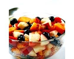 Як приготувати салати з фруктів