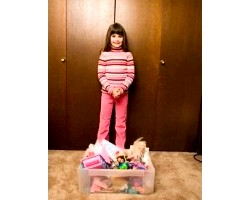 Як привчити дитину прибирати свої речі?