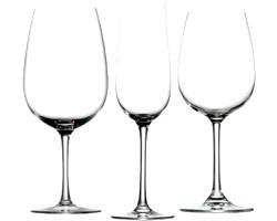 Які повинні бути келихи для вина