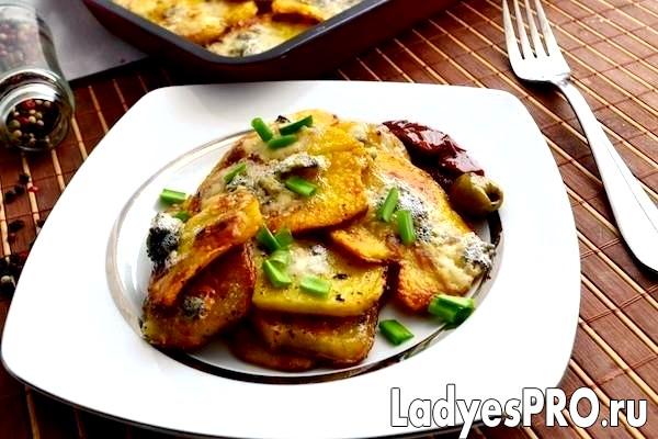 Картопля з горгонзолою