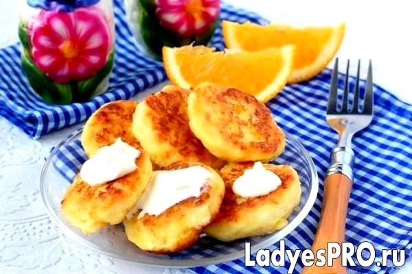 Картопляні коржі з гарбузом і апельсином