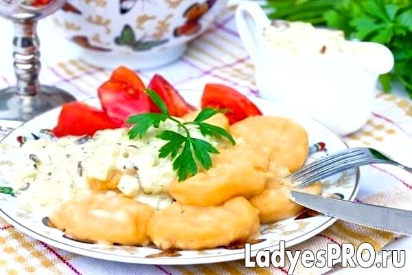 Картопляні ньоккетті з паприкою і мускатним горіх