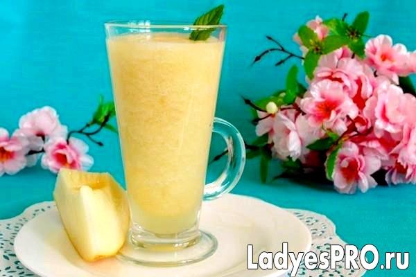 Лимонно-динний смузі