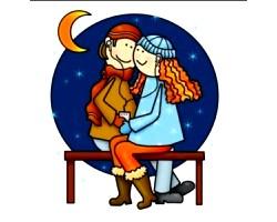 Місячний календар и любов