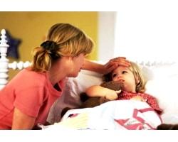 Маленька дитина часто хворіє