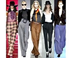 Моделі штанів і бридж