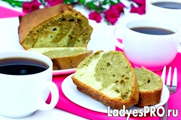 Мармуровий кекс з чаєм маття