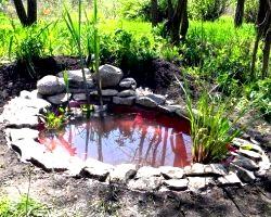 Незвичайний дизайн саду простими матеріалами