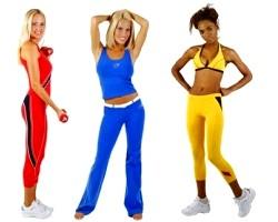 Одяг та аксесуари для занять спортом в тренажерному залі