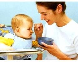 Харчування першого року життя: прикорм