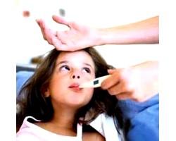 Застуда у дітей з високою температурою