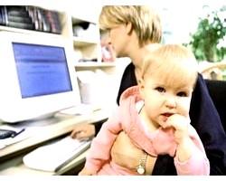 Робота жінок, які перебувають у відпустці по догляду за дитиною