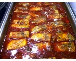Рецепт приготування другої страви з риби