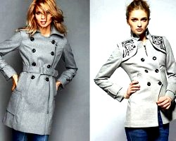 З чим носити сіре пальто?