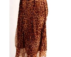 З чим потрібно носити спідницю леопардового кольору?
