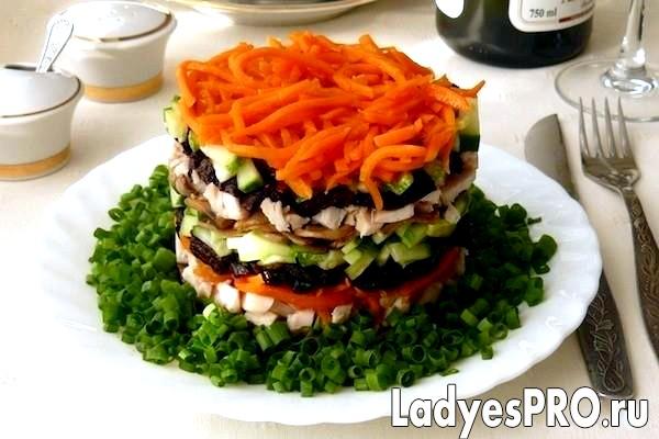 Салат «Обжорка»