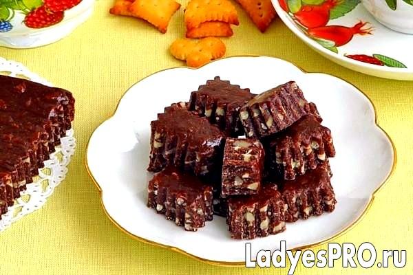 Шоколадно-горіхові тягучки