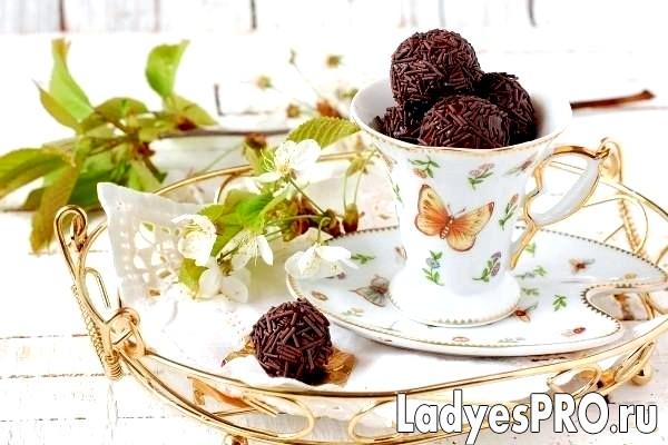 Шоколадні цукерки «Брігадейро»