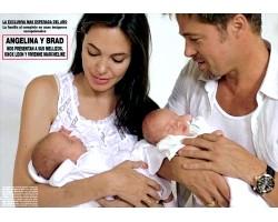 Повідомлення з Франції: Джолі народила близнюків