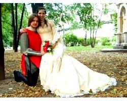 """""""Середньовічна"""" весілля в дусі лицарського турніру"""