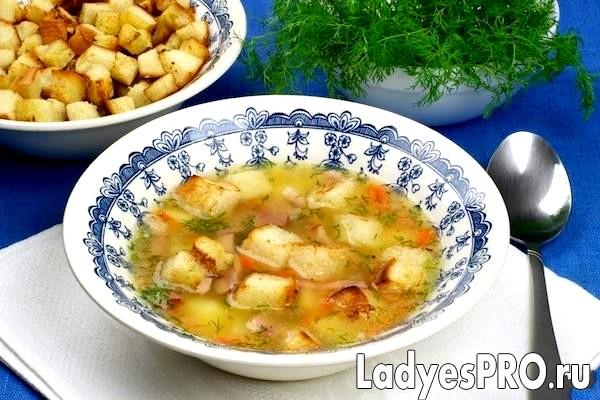 Суп гороховий