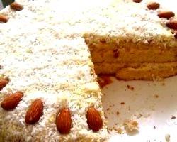 Торт мигдальний
