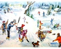Зимові розваги для всієї родини